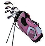 Sephlin - Lady Jayde 7 Pcs Golf Club Set and Golf Bag Age 6-10 RH